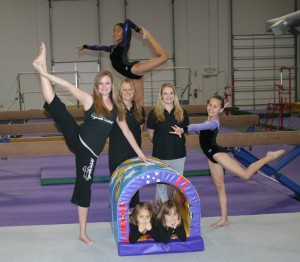 gymnastics group picture